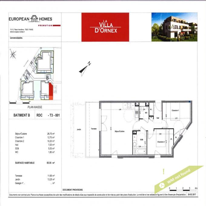 Offres de vente Appartement Ornex (01210)